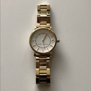 Marc Jacobs Gold Chain Watch